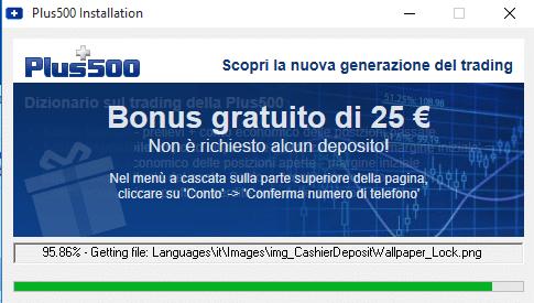 download piattaforma plus500