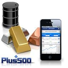 plus500 trading materie prime