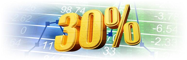 bonus 30percento marketscom