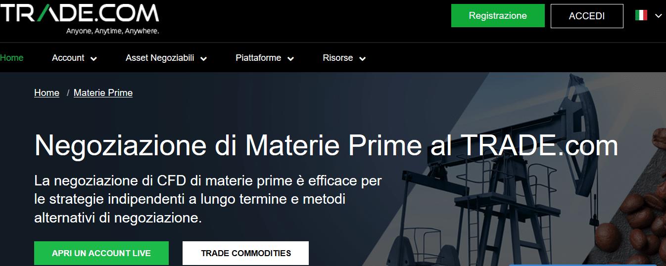 materie prime trade.com