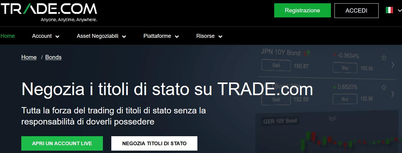 obbligazioni trade.com