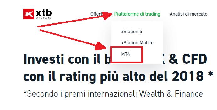 Metatrader XTB - miglior broker