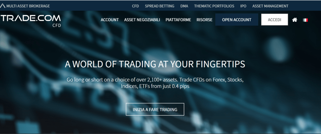 Trade.com sito ufficiale