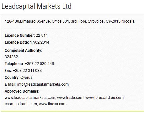 Trade.com consob Licenza-CySEC-Leadcapital-Markets