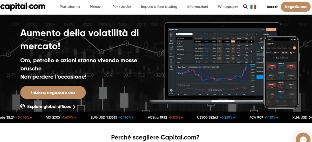 capital.com - broker forex migliore