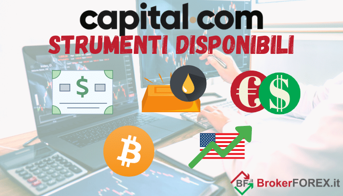 assets disponibili su Capital.com