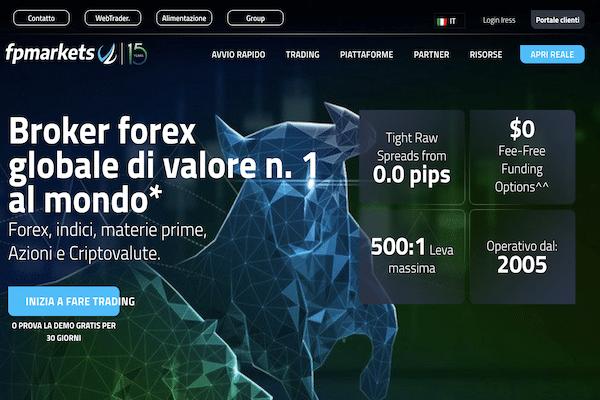 fp markets broker ecn