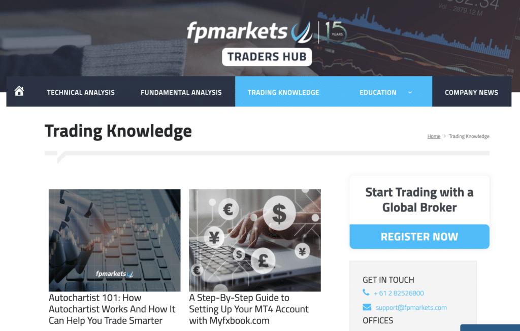 Formazione FP Markets