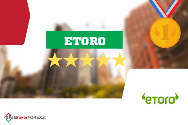 etoro è la migliore alternativa a obrinvest ed è leader mondiale nel social trading, una delle tante caratteristiche uniche della sua offerta